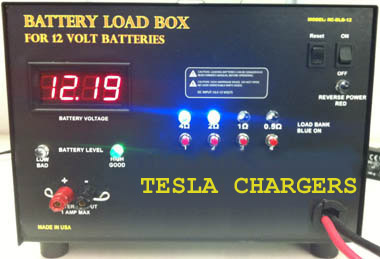 12V Battery Load Box Tesla Chargers